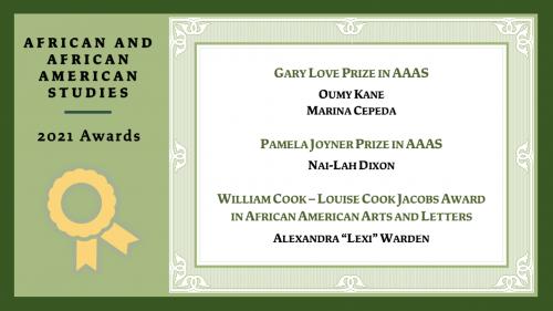 AAAS Awards, 2021