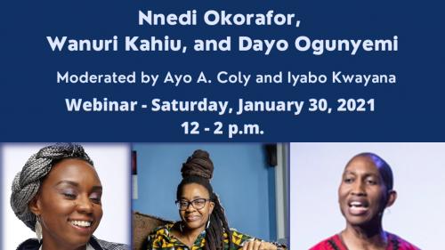 Narrating Black Futures, speakers