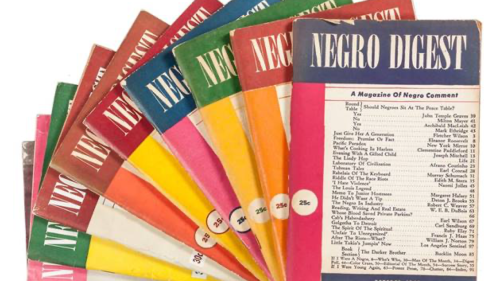 Covers of Negro Digest